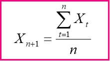 формула прогнозирования